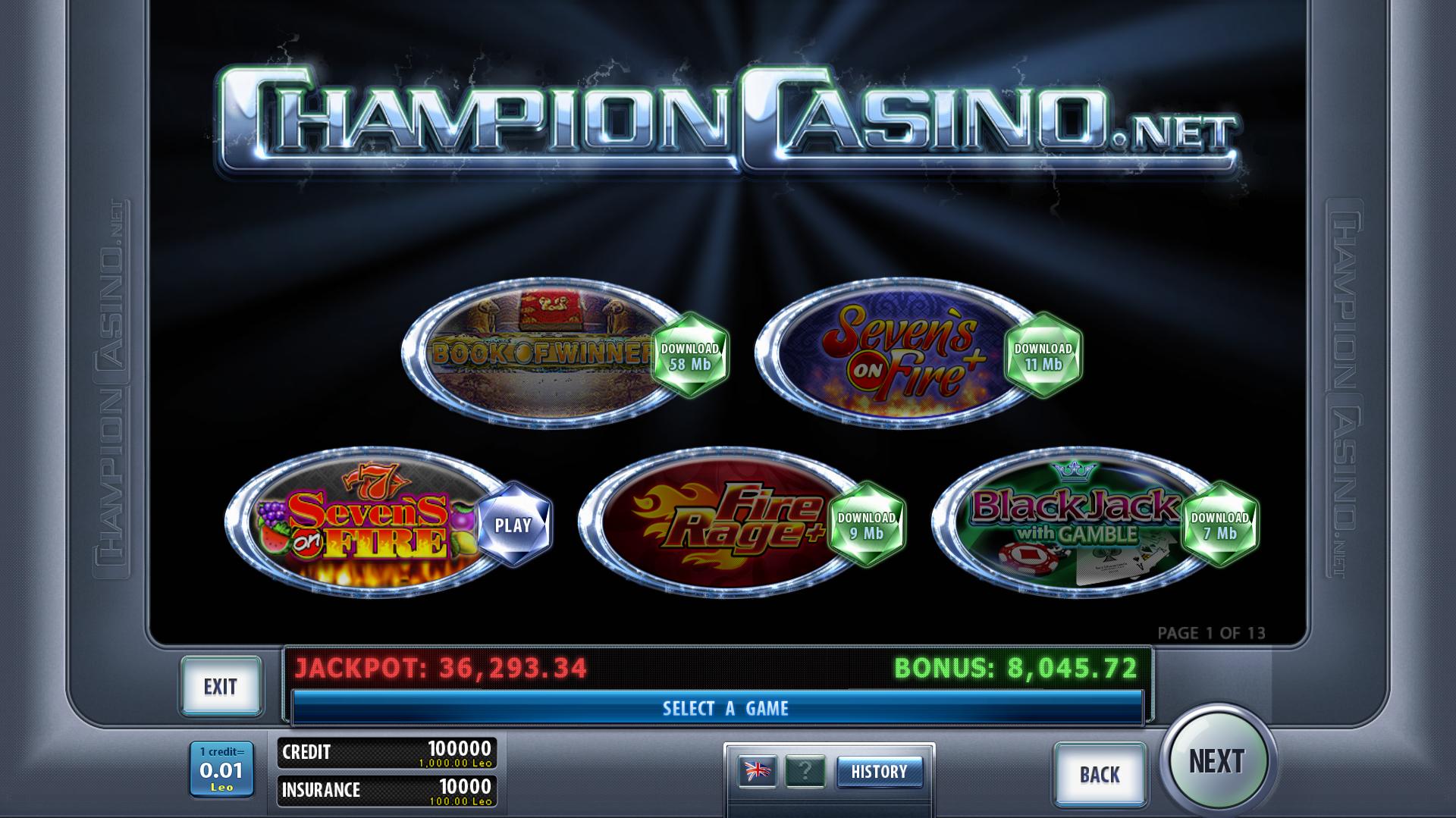 Игровые автоматы champion скачать веб чат рулетка онлайн 18
